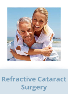 Refractive Cataract Surgery Stockton - image of an attractive older couple at the beach