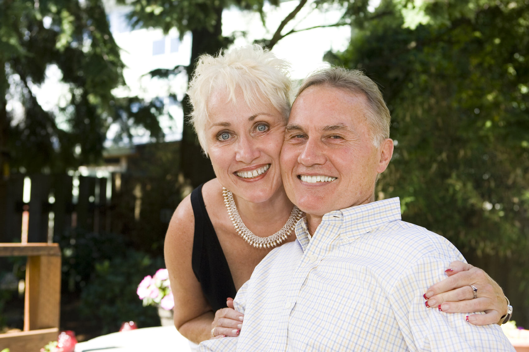 Senior Eye Care - picture of an attractive senior couple