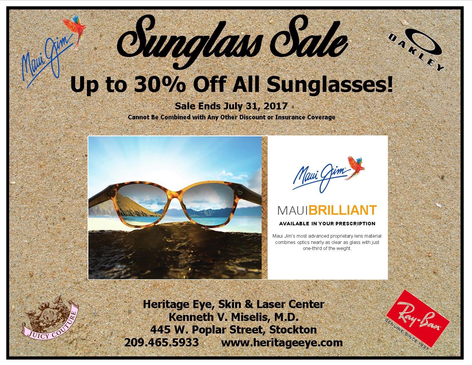 2017 Summer Sun Glass Sale!