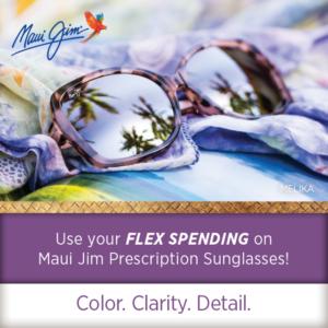 Use Your Flex Spending On Prescription Maui Jim Sunglasses!