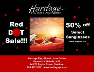 Don't Miss Our Red Dot Sunglass Sale!